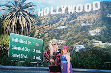 A faux Hollywood sign at Universal