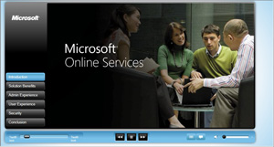 Click to view Microsoft BPOS Demo
