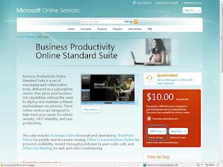Microsoft BPOS Portal