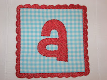 Square Scalloped Patch