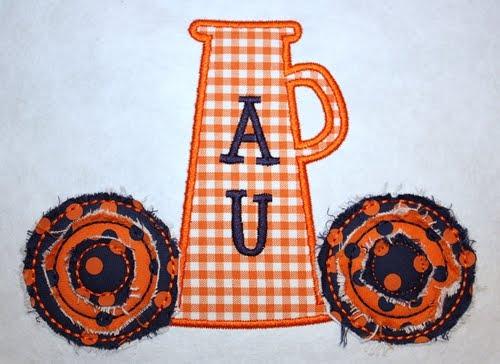 New designs applique cafe