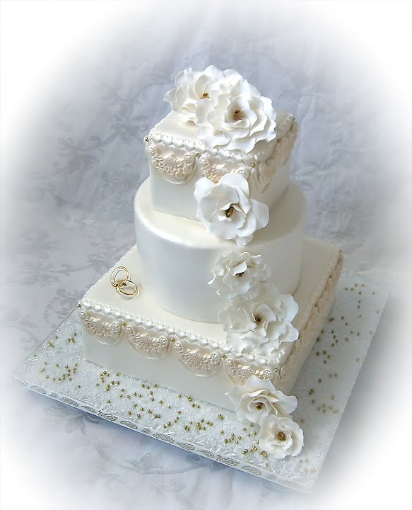 Personalised Anniversary Cake Images : Stacey s Sweet Shop - Truly Custom Cakery, LLC: A Golden ...