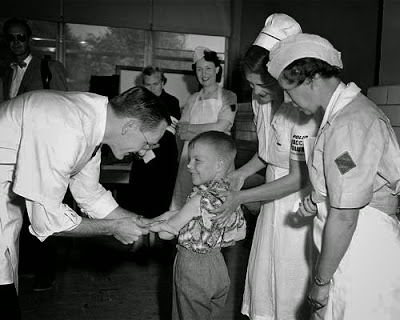 conquering polio It was in the early 1950s when morgenstern himself, at 8 years old, took part in the breakthrough clinical trial to test the vaccine created to end polio -- one of the most crippling, debilitating diseases of the time, which caused more than 2,000 deaths per year in the us.