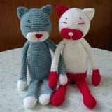 Free pattern amineko cat amigurumi