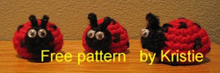 Little Lady Bug Free Amigurumi Pattern