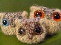Free owlet crochet pattern