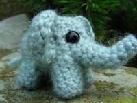 Free elephant crochet pattern