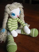 Crochet free pattern amigurumi doll