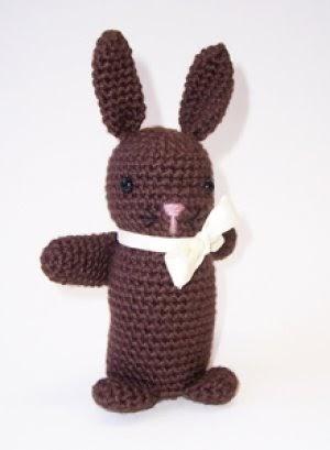 Amigurumi Type Of Yarn : Free Amigurumi Patterns: Amigurumi Chocolate Bunny