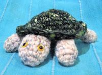 Free crochet turtle amigurumi