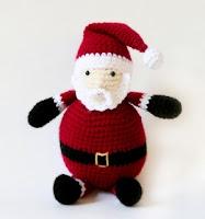 Free santa crochet amigurumi pattern