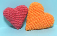 Free amigurumi heart pattern