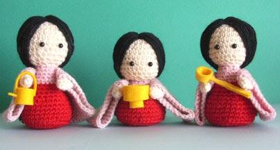 Cute Kawaii Amigurumi Patterns : Free Amigurumi Patterns: Japanese Amigurumi Dolls