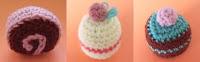 Free cake amigurumi pattern