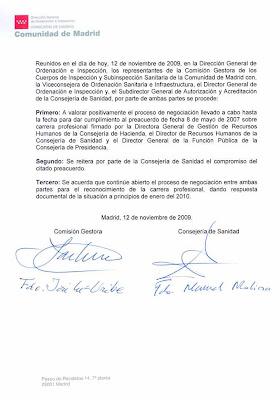 Comunicado ISaM-DGOI sobre Reunión con Viceconsejera 12 Nov '09