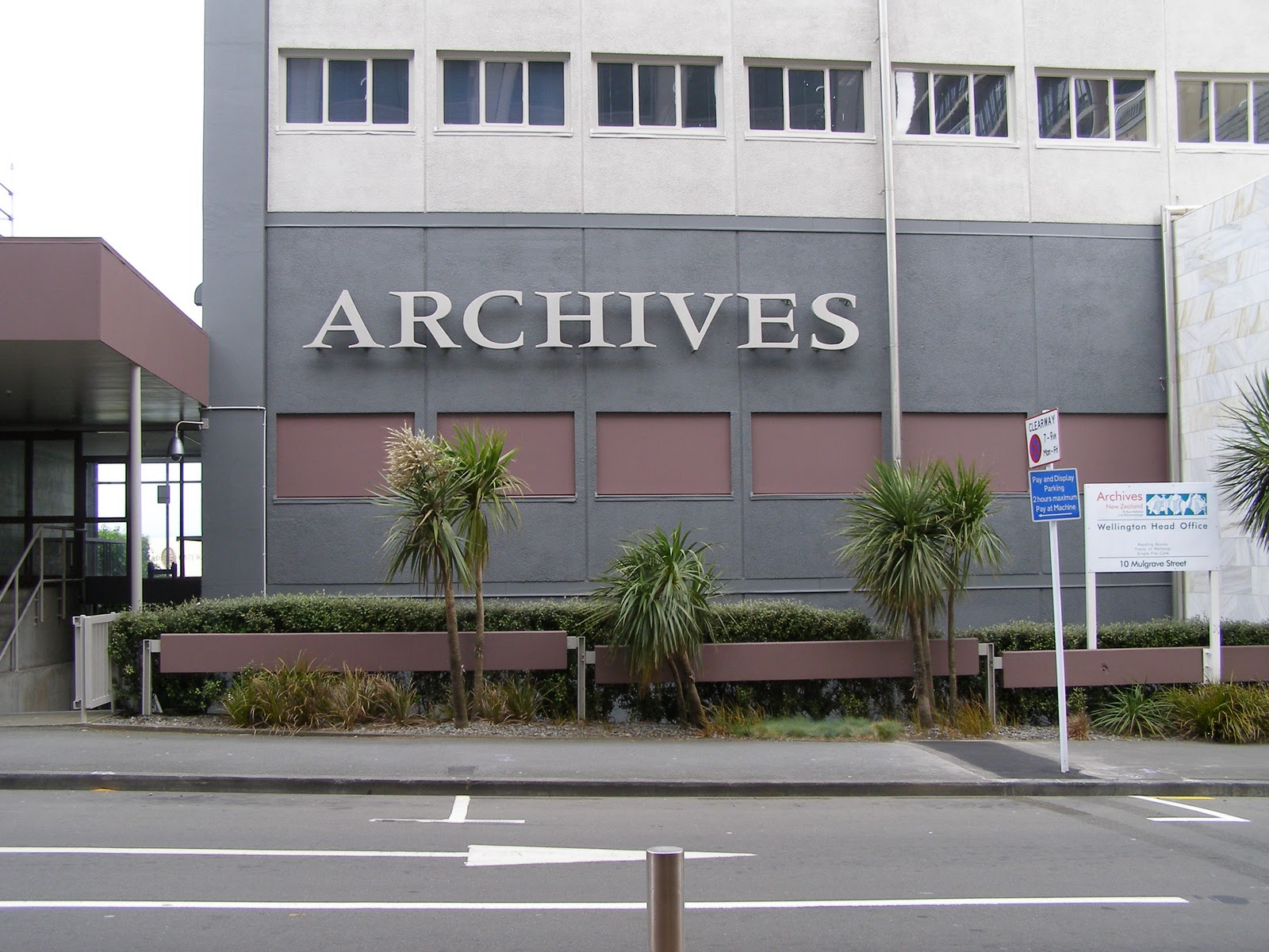 Wellington Archives