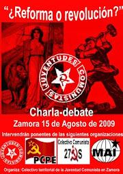 Charla-Debate: ¿Reforma o Revolución?