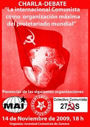 Charla-Debate sobre la Internacional Comunista