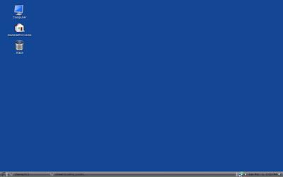 My PCLinuxOS desktop