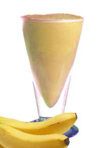 Yo-J Banana Bran Smoothie Healthy Drink Recipes