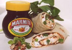 Pecan & Cheese Marmite Wrap, Vegetarian Recipes, Healthy Recipes