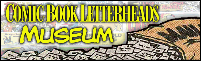 Comic Book Letterheads Museum