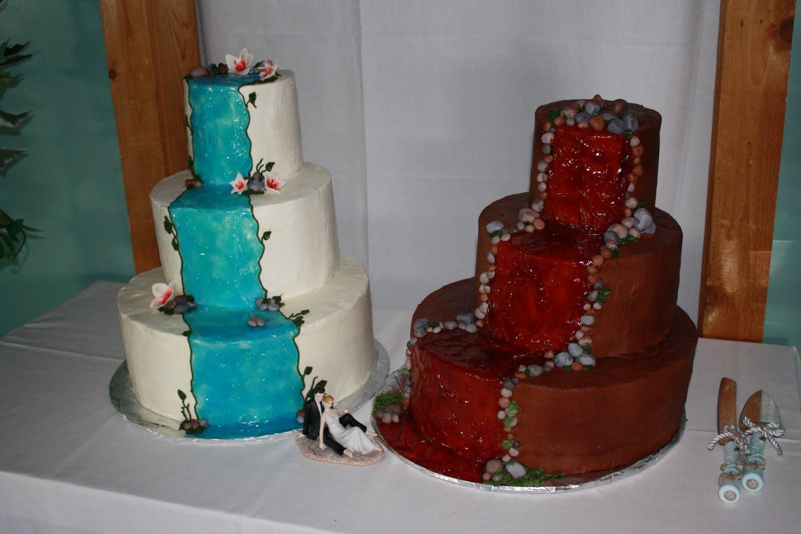Hock Cakes Llc Hawaiian Themed Wedding