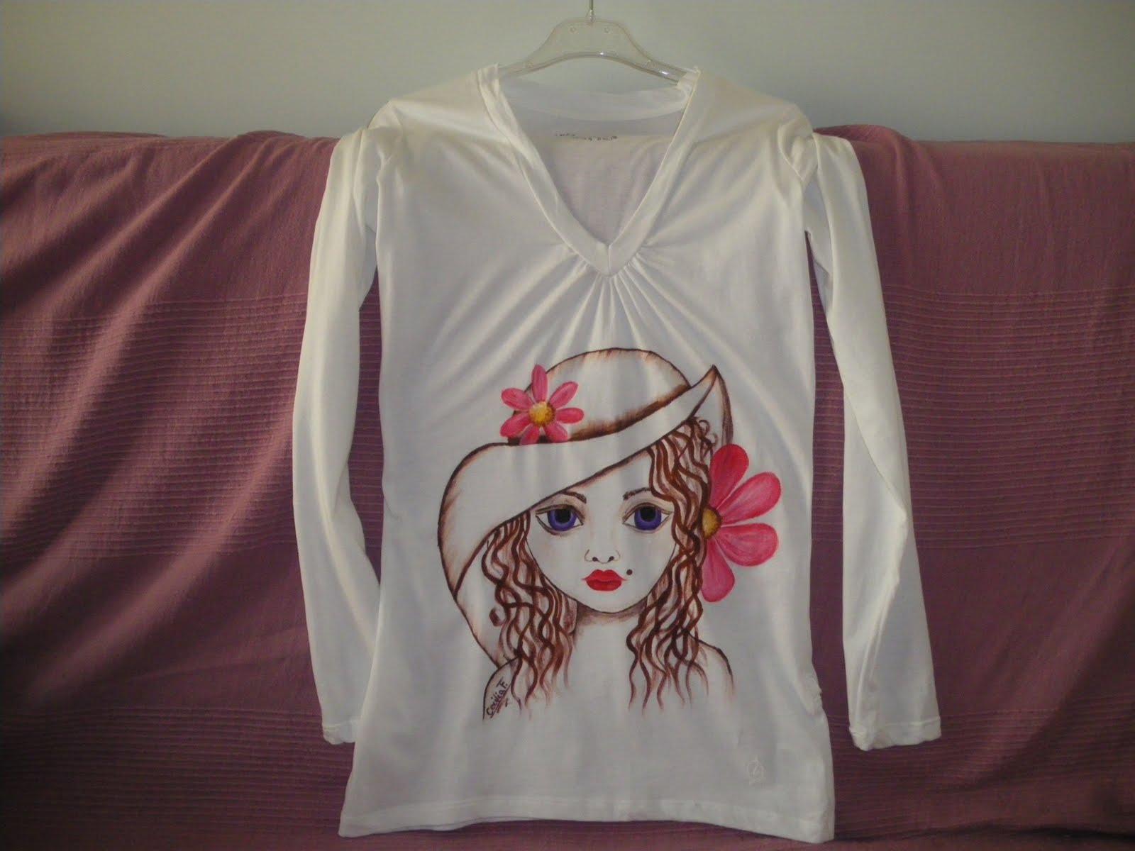 Pintura en camisetas imagui - Pintura para camisetas ...