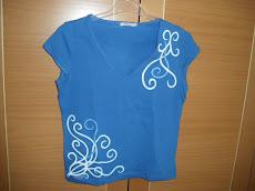 Camiseta  licra pintada