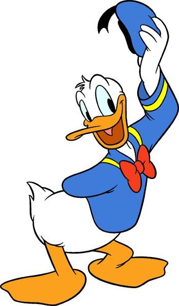 D Duck Cartoon Hello, my name ...
