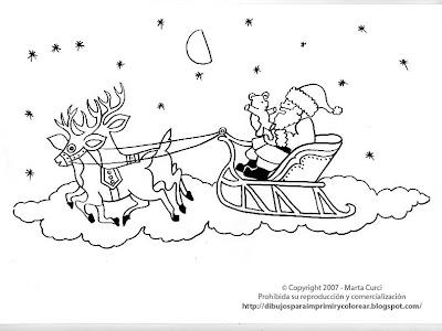 Santa Claus Dibujo