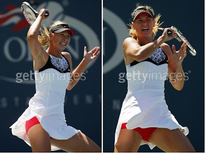 Female Tennis Players,Provocative Dressing