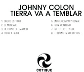 TIERRA VA A TEMBLAR JOHNNY COLON