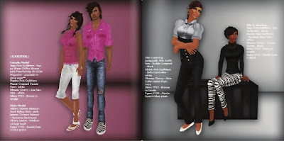 Icon May Editorial 3 GLANCE   Second Life Fashion PR Agency | Our Media Coverage