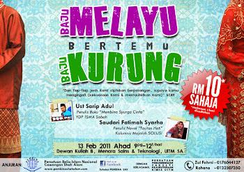 Baju Melayu bertemu Baju Kurung