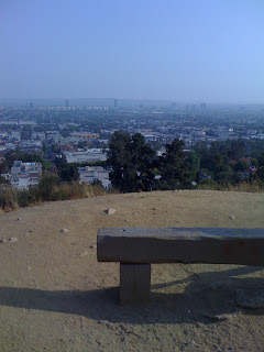 Runyon Canyon Trail View of Los Angeles