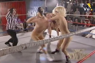 naked women wrestling league