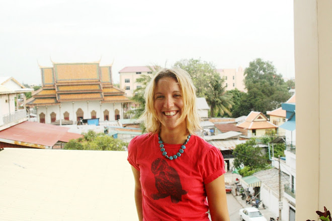 Michelle @ home in Phnom Penh!