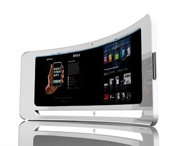 Curved iMac concept