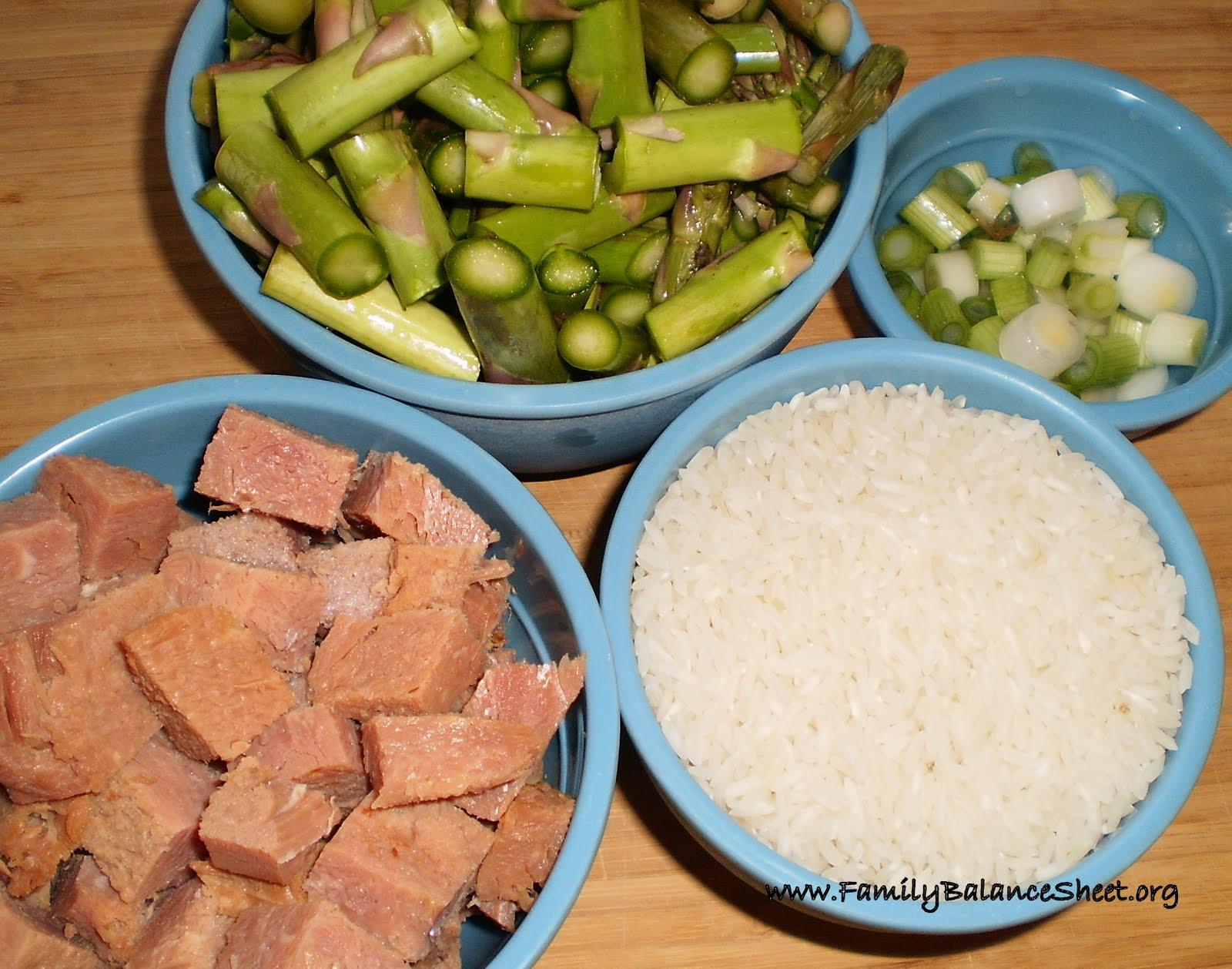 Ham and Asparagus Risotto - Family Balance Sheet