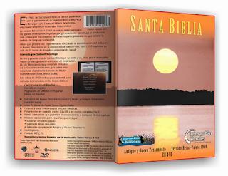 Santa Biblia, Reina Valera 1960 en DVD, Antiguo y Nuevo Testamento