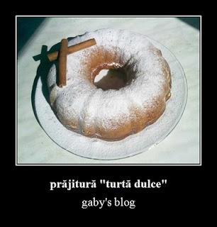 """Articole culinare : prăjitură """"turtă dulce"""""""