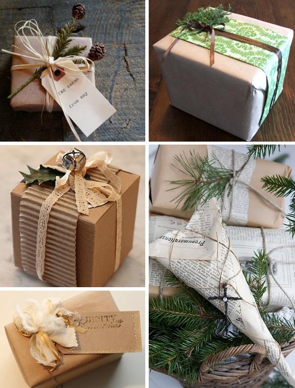Мастер класс по упаковке новогодних подарков 29