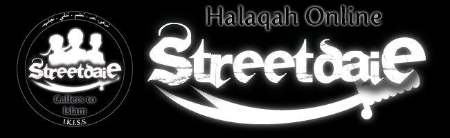 StreetDaie Halaqah - Online