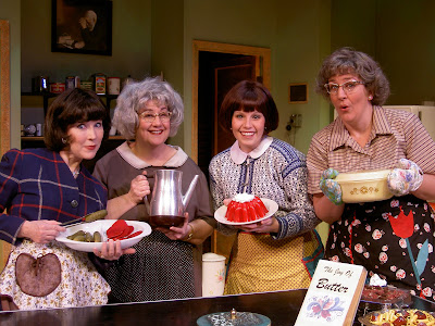 The Show Follows The Four Women Who Run The Basement Kitchen Of A  Small Town Minnesota Lutheran Church In The 1960s. Four Scenes See The  Ladies Through ...