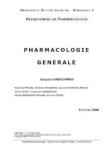 livres de pharmacologie pr les etudiants en pharmacie Pharmacologie