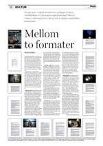 Aftenposten, søndag 16. januar 2011