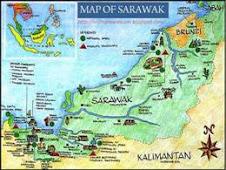 Map Of Sarawak