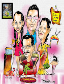 shanker rai and family caricature