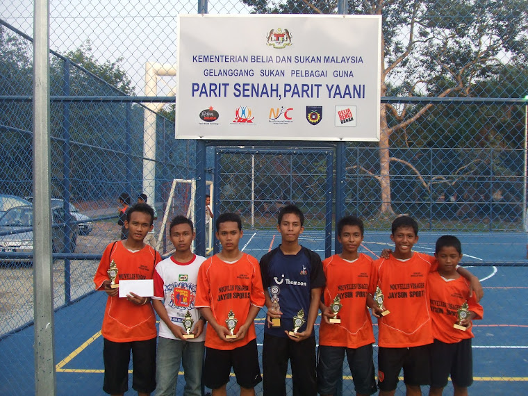 PEMAIN FUTSAL REMAJA 2009